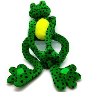 Fiesta Green Spotted Frog Long Sticky Hands & Feet